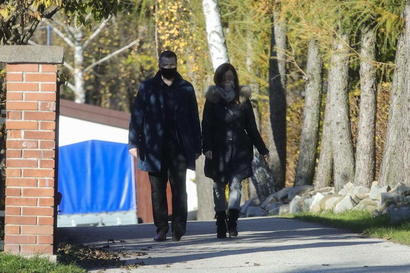 Przemysław Czarnek z żoną udali się do kościoła