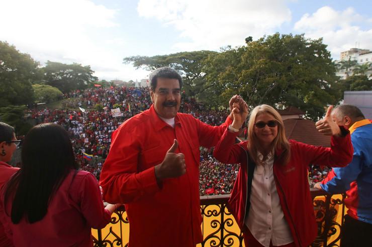 Nikolas Maduro, EPA - Marcelo Garcia