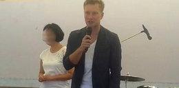 Kuba Wesołowski miał brać ślub, a prowadził imprezę...