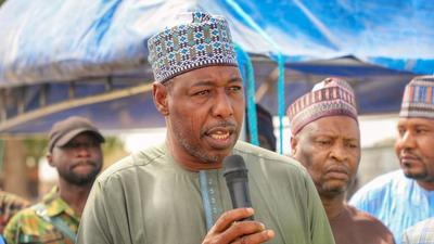 Gov Zulum says there are White men, Asians and Christians among Boko Haram sponsors