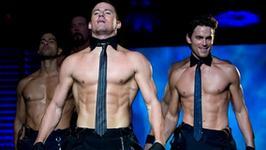 "Channing Tatum robi ""striptiz"" w domu"