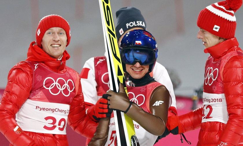 Kamil Stoch mistrzem olimpijskim w Pjongczang