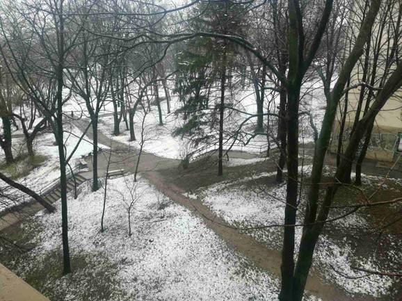 I na Banovom brdu zadržalo se snega