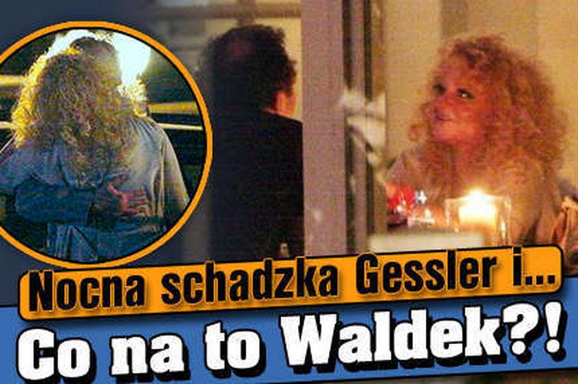 Nocna schadzka Gessler i... Co na to Waldek?!