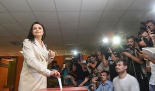 Rzecznik rządu: Analizujemy okoliczności wyjazdu Cichanouskiej