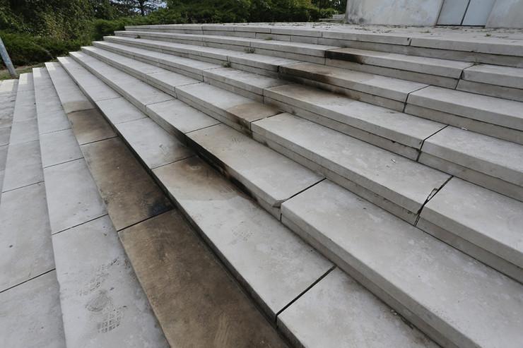 Spomenik stepenice pozar Banj brdo