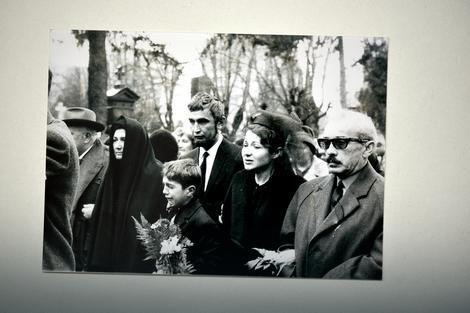 Porodica Miloša Miloševića na sahrani