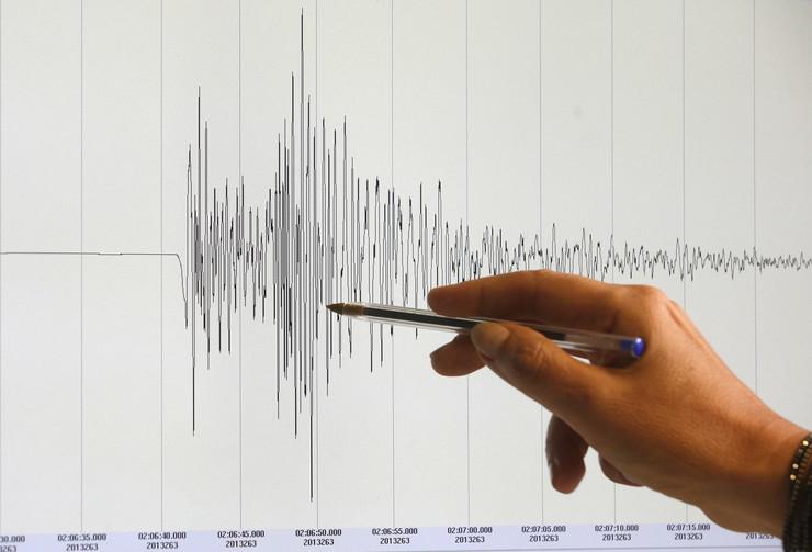 Zemljotres grafikon