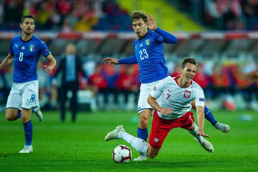 Polska - Wochy 0:1 w Lidze Narodów