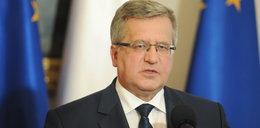 """Komorowski: opublikuję """"białą księgę"""" naruszeń konstytucyjnych w Polsce"""