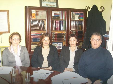 Profesori Irena Vidanović, Jelica Stojadinović, Marina Mijalković i Bratislav Krstić