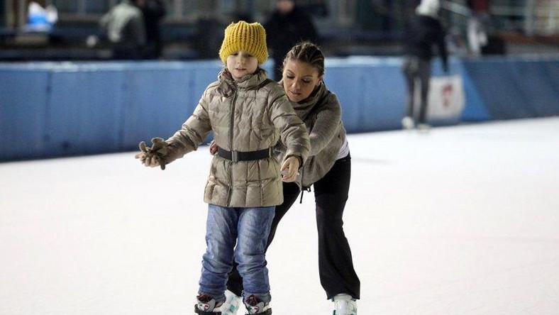 Marzena Sienkiewicz z córką