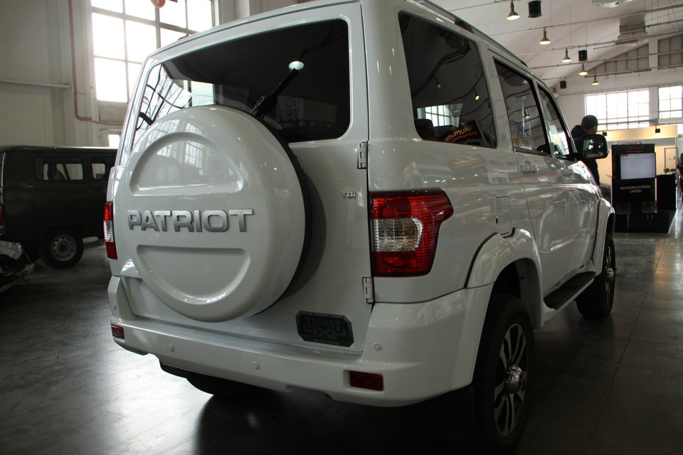 UAZ Patriot (Poznań 2016)