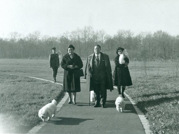Jovanka, Tito i Nada