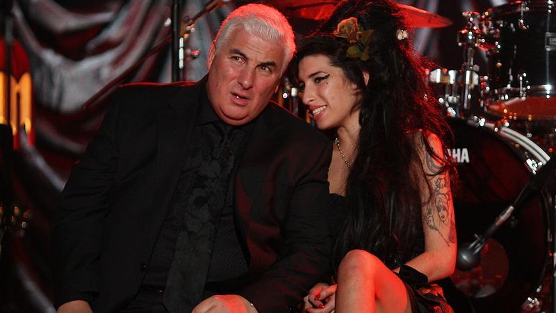 Amy Winehouse z ojcem Mitchem (fot. Getty Images)