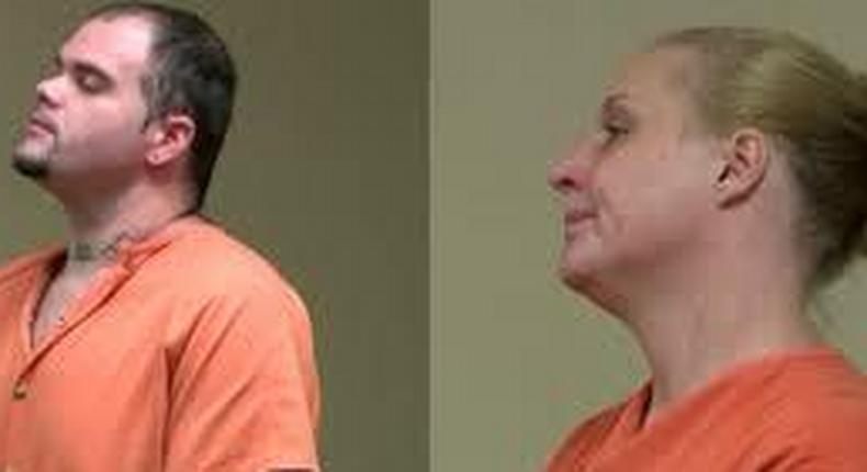 The suspects, John David Cain, 26, and Deanna Lynn Greer, 37,