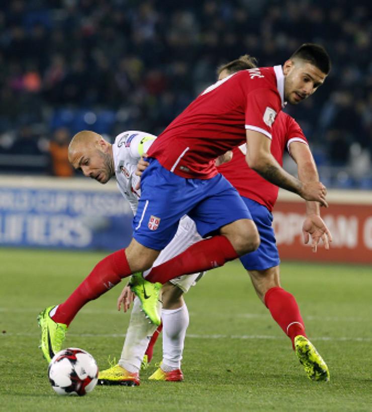 Fudbalska reprezentacija Srbije, Fudbalska reprezetnacija Gruzije