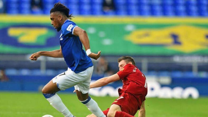 Alex Iwobi played 88 minutes as Everton held Liverpool to a goalless draw (Instagram/Alex Iwobi)