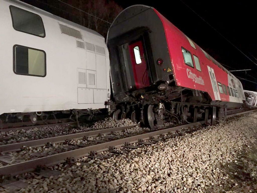 Wypadek pociągu w Austrii
