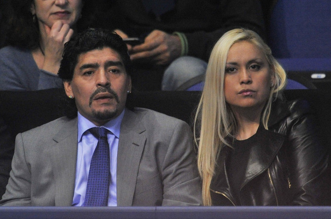 Maradona sa Veronikom Ohedom