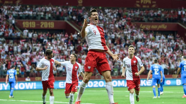 Сборная Польши по футболу прошла на чемпионат Евро 2020