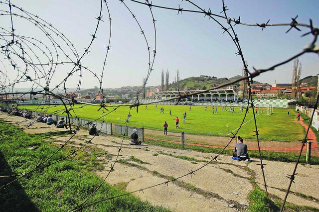 Fudbalski stadioni na Kosovu