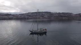 Statki swobodnie poruszają się w okolicach bieguna, gdyż lodu jest coraz mniej