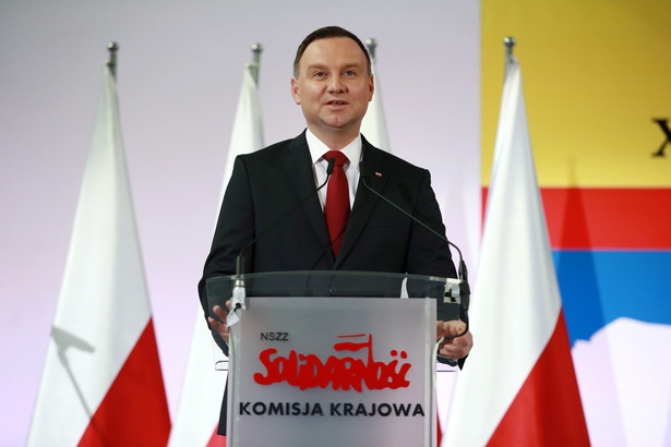 Prezydent Andrzej Duda, PAP/Marcin Bednarski
