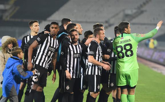 Partizan slavio protiv Dinama sa 6:0