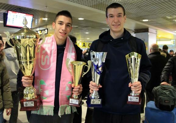 Novak Musić i Aleksandar Aranitović