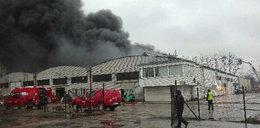 Pali się hala w Radomiu