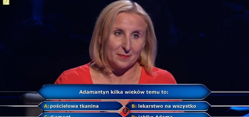 """""""Milionerzy""""- Agnieszka zrezygnowała przez pytanie o adamantyn. Wiesz, czym jest?"""