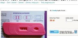 Uwaga! Fałszywe testy ciążowe