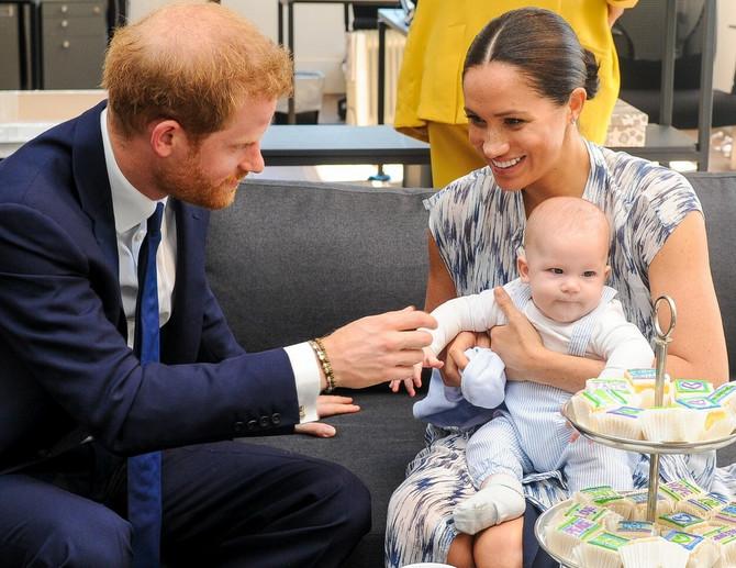 Princ Hari, Megan Markl i sin Arči