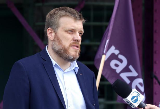 Adrian Zandberg, członek Zarządu Krajowego Partii Razem