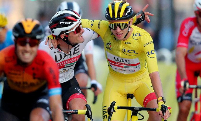 Tadej Pogacar triumfatorem Tour de France!