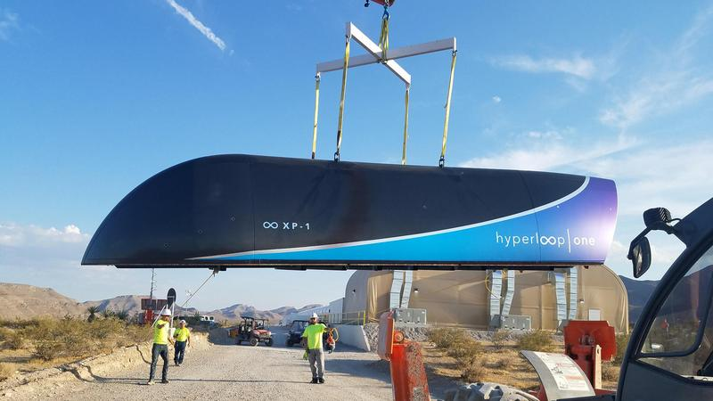 """Hyperloop One wybrał dziesięć tras dla """"transportu przyszłości"""""""