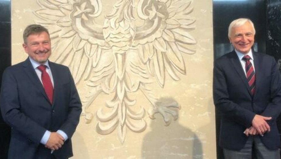 Ole Toft i Piotr Naimski. Fot. Biuro pełnomocnika rządu ds. strategicznej infrastruktury energetycznej.
