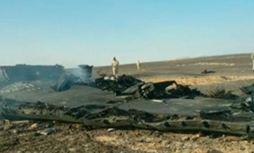 Katastrofa samolotu w Egipcie
