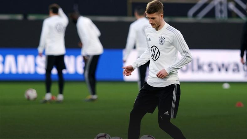Marco Reus is expected to start for Germany against the Netherlands on Sunday