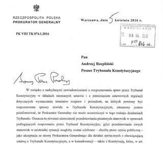 """Ziobro przesyła """"instrukcję obsługi spraw przez TK"""" i ostrzega sędziów"""