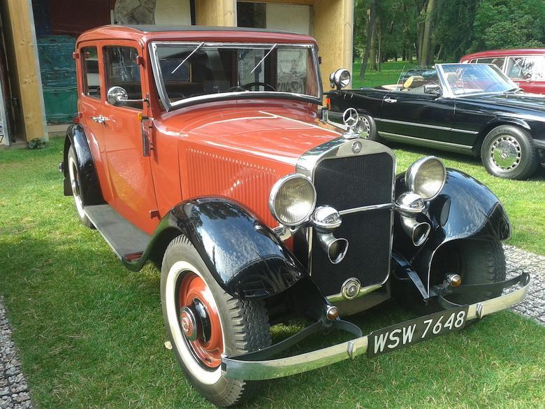 Mercedesy na Auto Nostalgii 2015