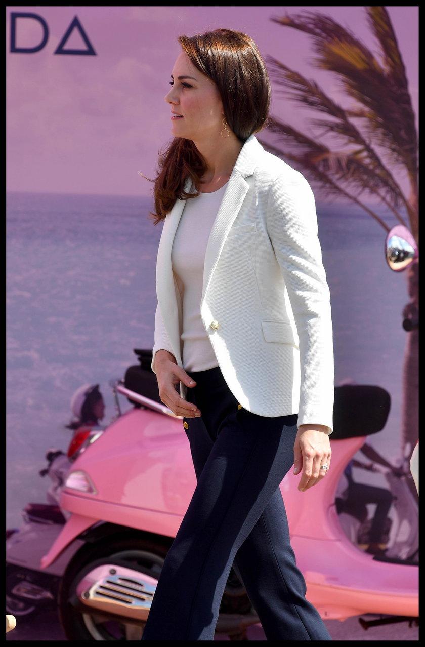 Księżna Kate w marynarce z sieciówki. Ty też możesz ją mieć