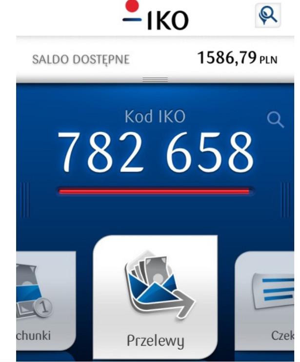 IKO- aplikacja PKO BP