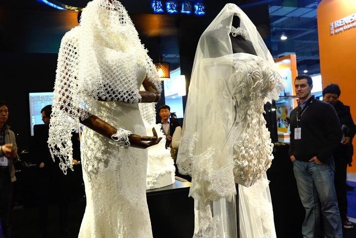 c8a92114 Suknie ślubne wydrukowane techniką 3D