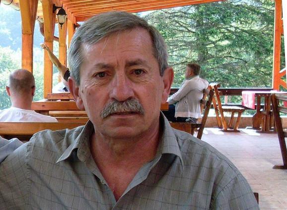 Potpukovnik Branko Ljiljak, prvi potpredsednik SUBNORSrbije