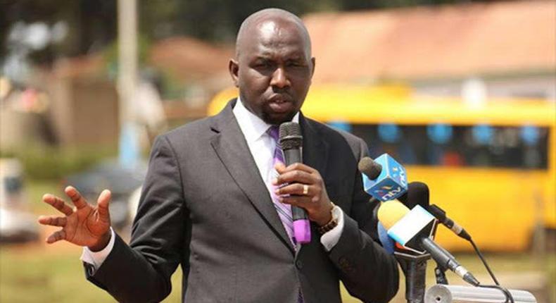 File image of Senator Kipchumba Murkomen