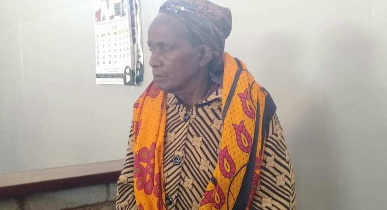 83-year old Nyeri cucu , Lydia Mumbi, staring at prison sentence after pleading guilty in bhang case