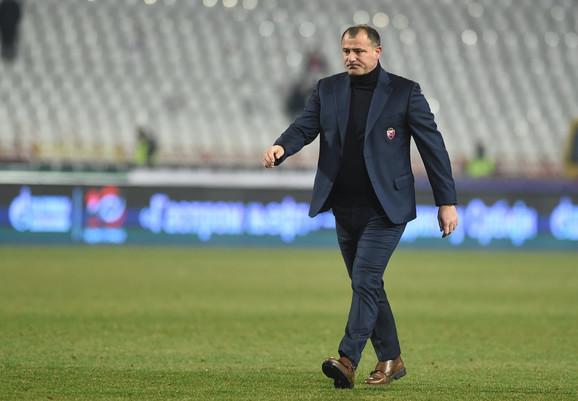 Dejan Stanković, trener FK Crvena zvezda