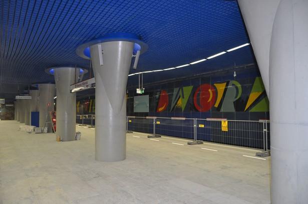 Stacja C15 Dworzec Wileński fot. metro.waw.pl
